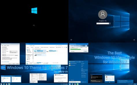 theme windows 7 zen windows 10 theme for windows 7 by mare m on deviantart