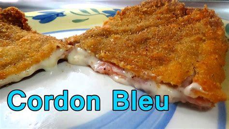 recetas faciles de cocina y economicas cordon bleu o milanesas recetas de cocina faciles