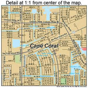 map of cape coral florida cape coral florida map 1210275