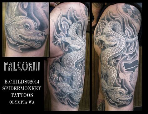 neverending story tattoo neverending story falcor search ink