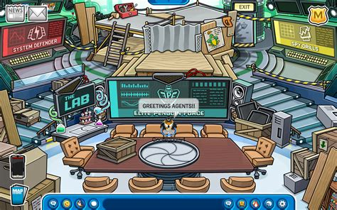 EPF Command Room Updated New EPF Game On Club Penguin   Club Penguin Awesome Guide!