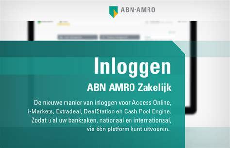 abn amro bank nl login nieuws inloggen abn amro