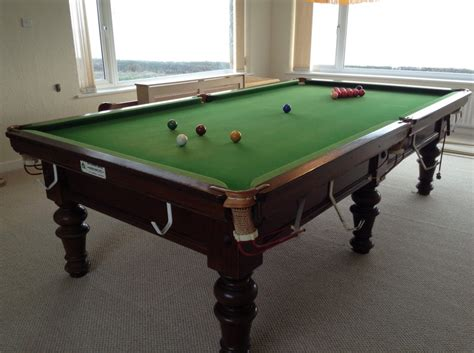 9ft snooker table for sale located on anglesey wales