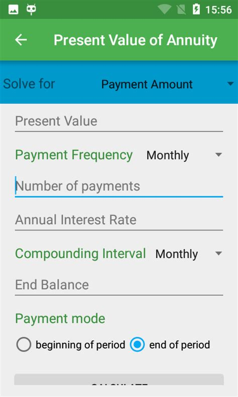 Mba Investment Calculator by Tvm Financial Calculator Android Apps On Play