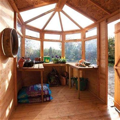 10 X 6 Shed Floor - 10 x 6 potting shed tongue and groove floor shedsfirst