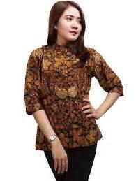 Dress Batik Cantik Mihika Sinaran 25 model baju batik keris wanita modern terbaru 2018