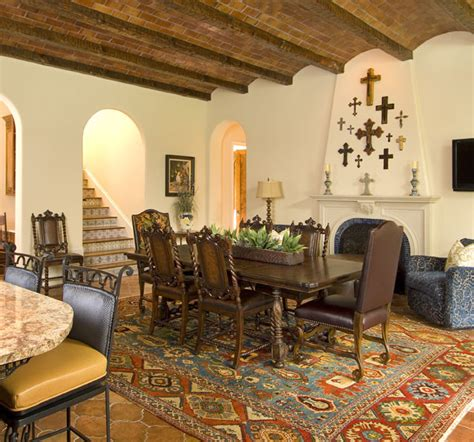 mediterranean dining room spanish mediterranean mediterranean dining room other metro by astleford interiors inc