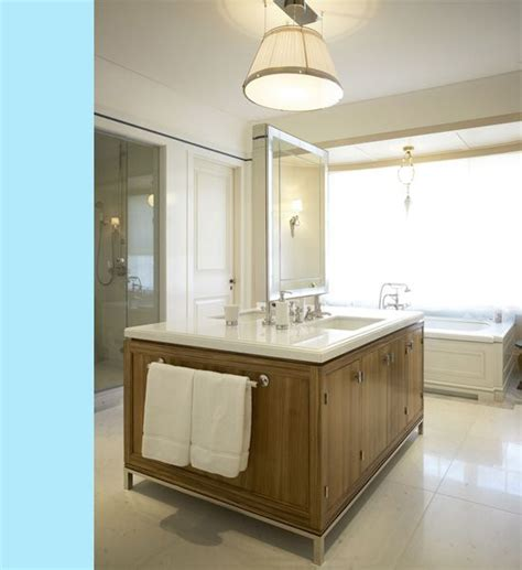sided vanity island best bathrooms
