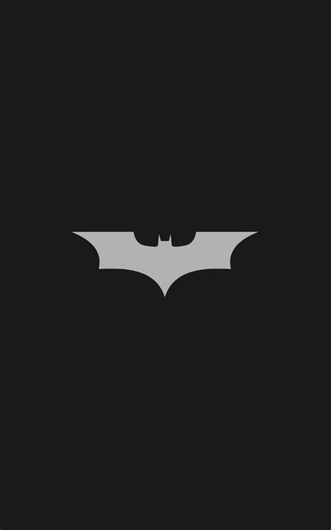 batman logo batman minimalism portrait display