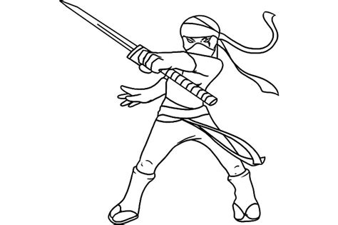 coloring page ninja image gallery ninja coloring pages