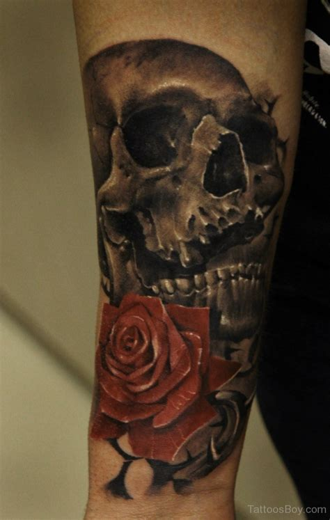 skull tattoo wrist designs pictures a category wise