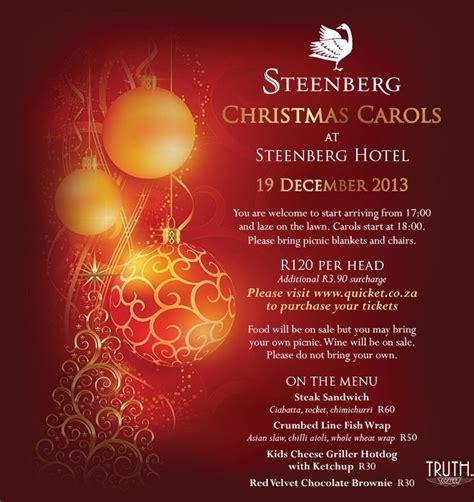 Christmas Carol Flyer