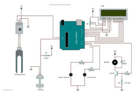 arduino irrigation  plant watering  soil moisture