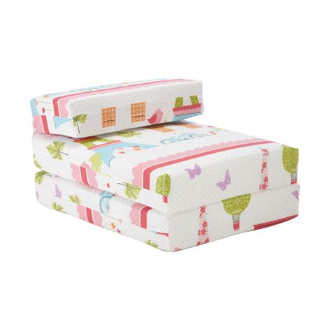 fold out sofa kids kids character foam fold out sleep over guest single futon