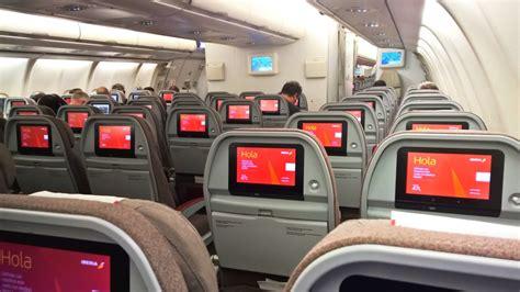 Iberia Cabin by Empty Iberia Airbus A340 600 Heathrow Madrid Ec