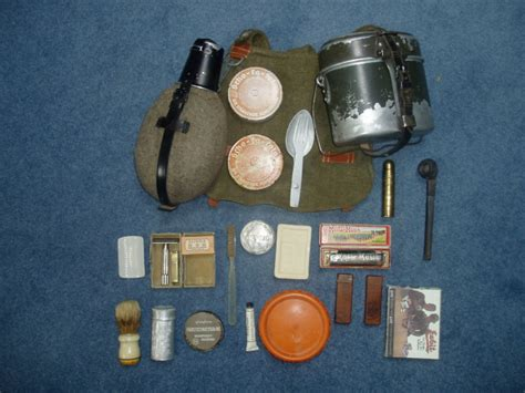 personal mess kit german bread bag canteen mess kit gear and