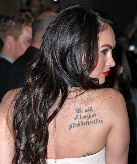Megan Fox Long Wavy Casual Hairstyle
