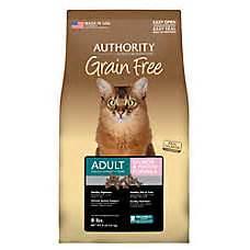 authority grain free food cat food food for cats petsmart