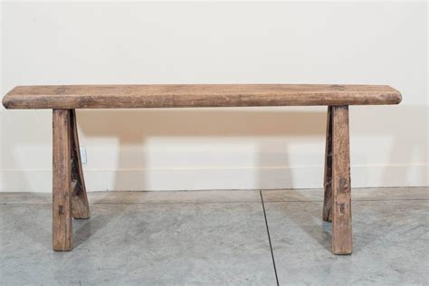 country benches narrow country bench at 1stdibs