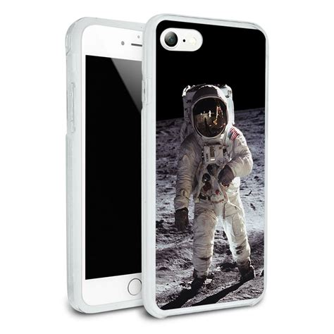 Softcase Ultra Slim Astronot Astronaut Soft Caing Iphone 6 Plus apollo 11 moon landing astronaut space for apple iphone 7 7 plus