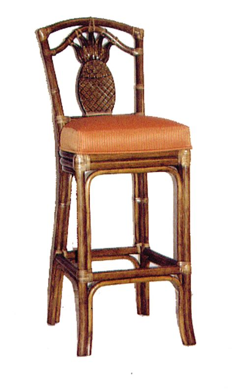 fong brothers co 1010 pineapple barstool