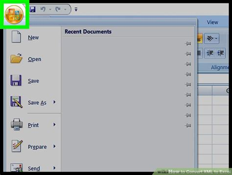 how to convert xml to excel with pictures wikihow