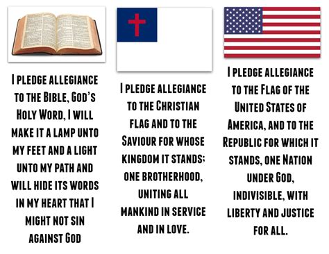 printable lyrics to the pledge of allegiance pledge to the christian flagworld of flags world of flags