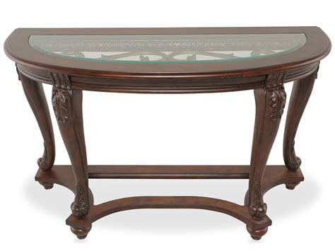 console table behind reclining sofa sparta sofa table t499 4 occasional tables from ashley