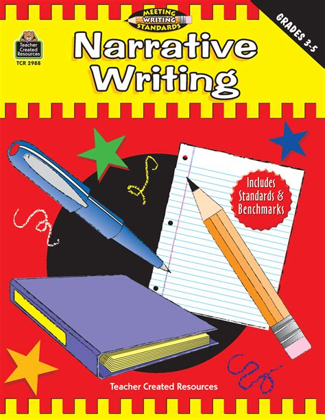 target grade 3 writing 0435183222 narrative writing grades 3 5 meeting writing standards series tcr2988 teacher created