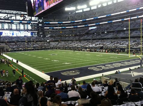 cowboys stadium sections hall of fame endzone at t stadium football seating