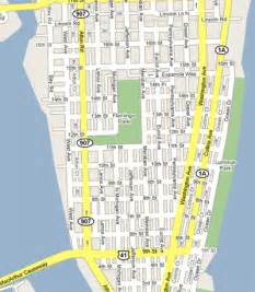 South Beach Miami Map by Miami Beach Hotel Images