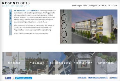 design management regents property management website design portfolio