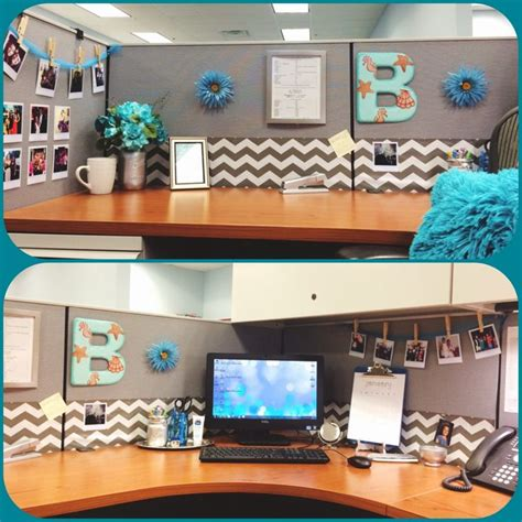 diy office decorating ideas diy desk glam give your cubicle office or work space a