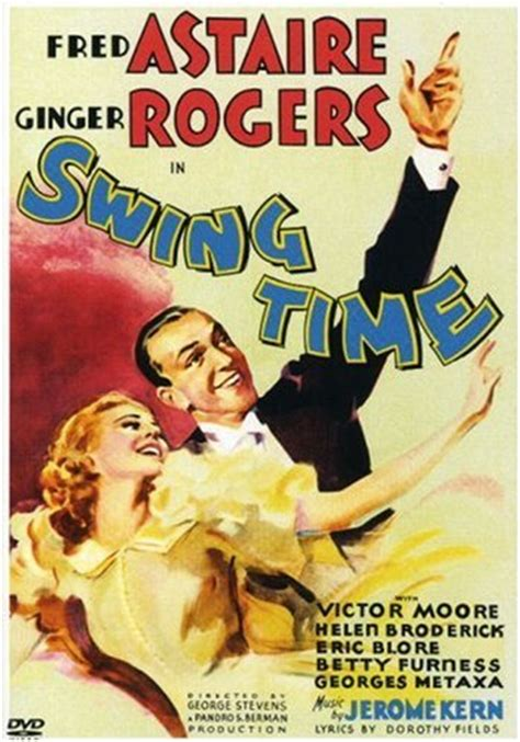 swing dance dvd film classic swing time with fred astaire and ginger rogers