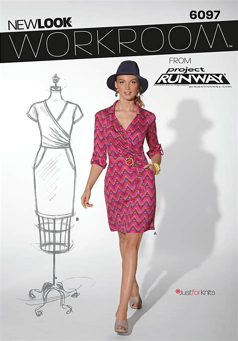pattern review best of 2012 new look 6097 dress
