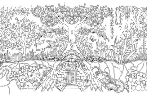secret garden coloring book canada enchanted garden coloring book free johanna basford pages