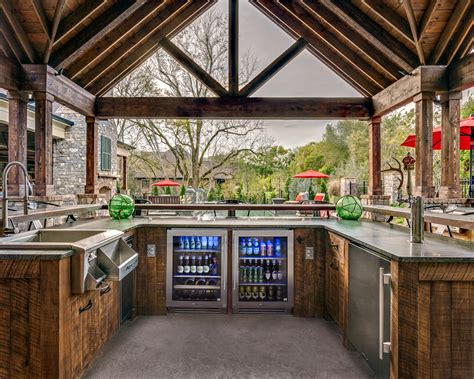 exterior kitchen brentwood outdoor entertaining with true residential 24