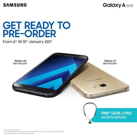 Handphone Samsung Galaxy A Series samsung galaxy a7 2017 specifications pre order details techslack
