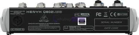 Behringer Xenyx Q802 Usb Mixer clearance bargains gt behringer xenyx q802 usb mixer whybuynew