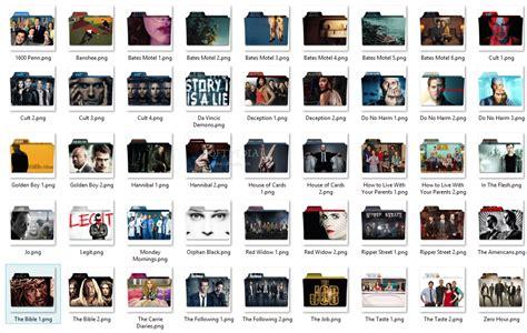2013 midseason tv series folder pack