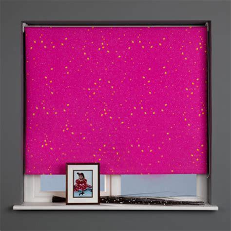pink patterned roller blind sunlover patterned thermal blackout roller blind ebay