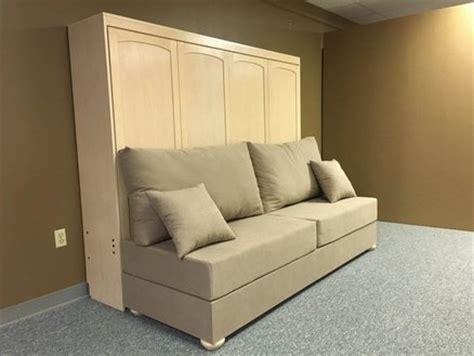 sideways murphy bed sideways murphy bed horizontal murphy bed w sofa custom by chris davis