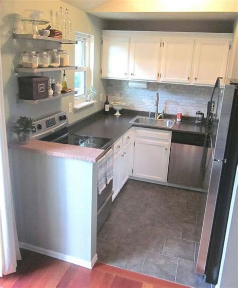 tiny house kitchen ideas 19 practical u shaped kitchen designs for small spaces