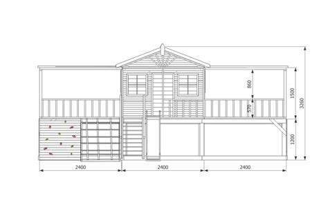 building a cubby house plans sandelwood cubby house australian made wooden playground
