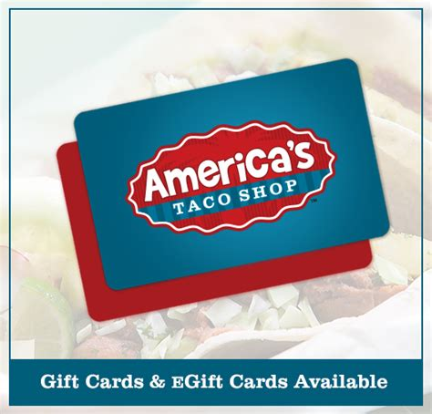Where To Buy Good Food Gift Card - americas taco shop gift cards