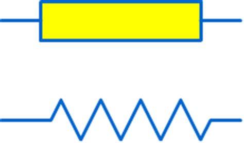 simbol sebuah resistor resistor atau tahanan 7infomedia