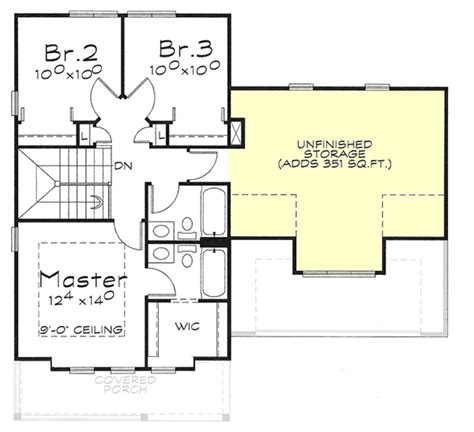 Two Story House Plan With Choices 40883db 2nd Floor 2 Story House Plans With Second Floor Master