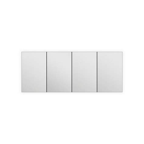 "60"" Wide Mirrored Bathroom Medicine Cabinet"