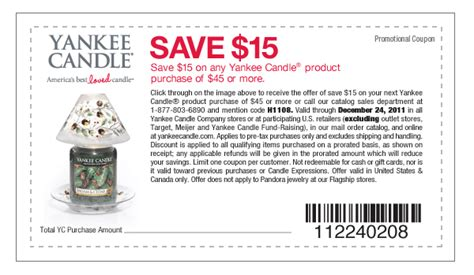 yankee candle coupons 15 off 45 printable savings obsessed 15 yankee candle coupon