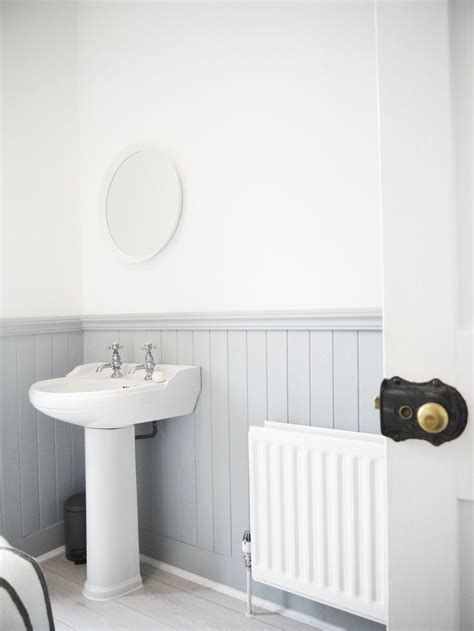 White Tongue And Groove Bathroom Furniture by The 25 Best Bathroom Paneling Ideas On